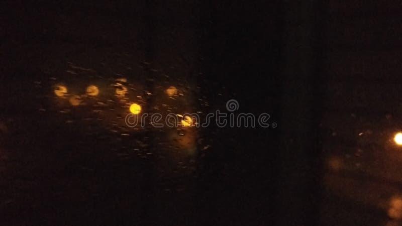 Luces de calle de la noche foto de archivo