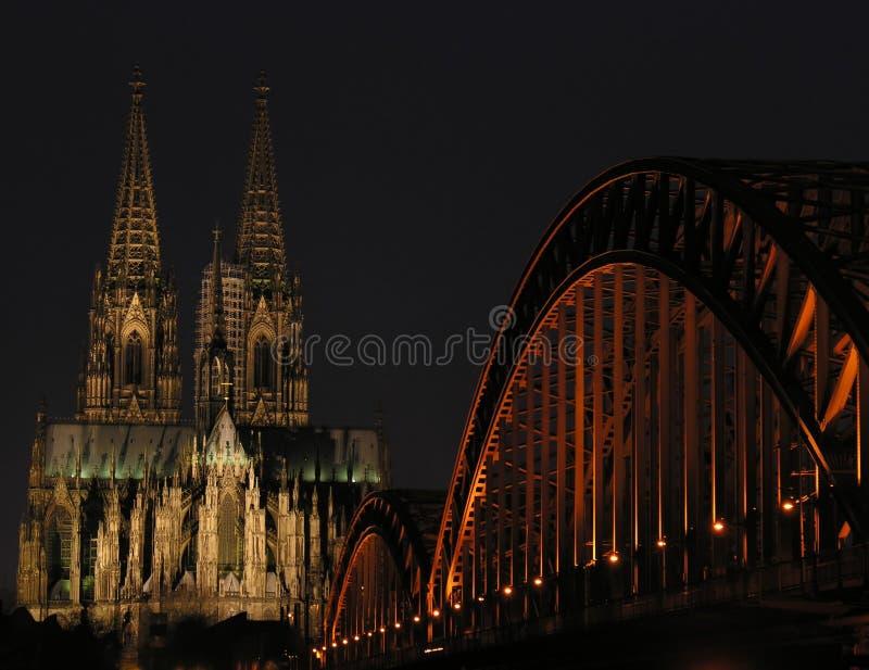Luces De Colonia Imagen de archivo libre de regalías