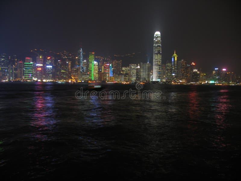 Download Luces de Hong-Kong imagen de archivo. Imagen de china - 1292453