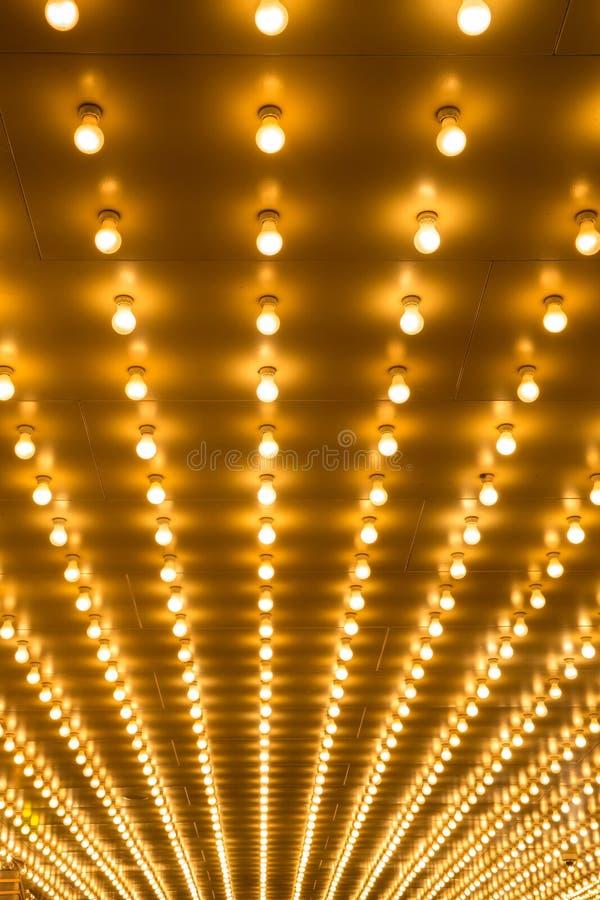 Luces de la carpa imagenes de archivo