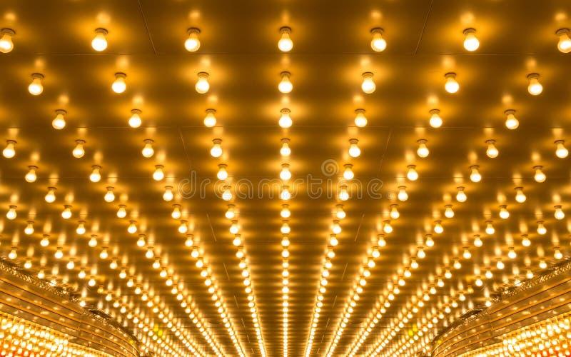 luces de la carpa imagen de archivo libre de regalías