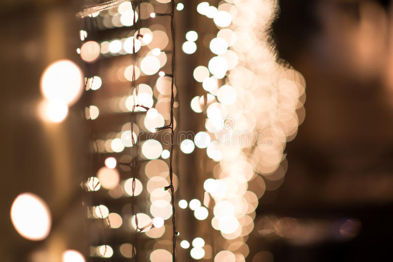 Luces de la ciudad de la noche, fondo abstracto vibrante foto de archivo
