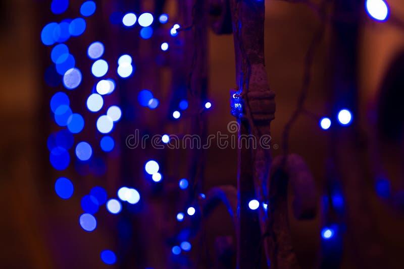 Luces de la ciudad de la noche, fondo abstracto vibrante imágenes de archivo libres de regalías