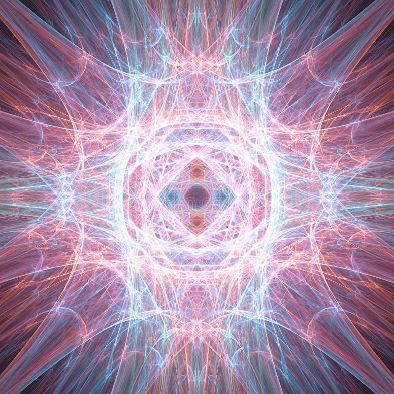 Luces de la energía ilustración del vector