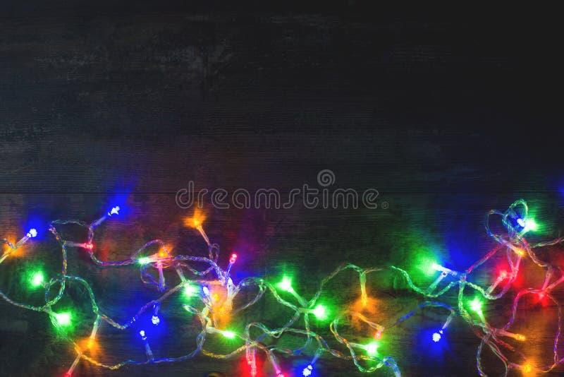 Luces de la Navidad foto de archivo libre de regalías