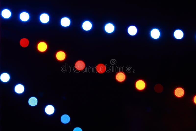 Luces de los d?as de fiesta. foto de archivo