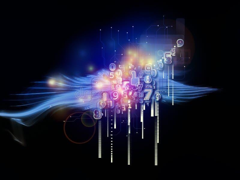 Luces de números libre illustration