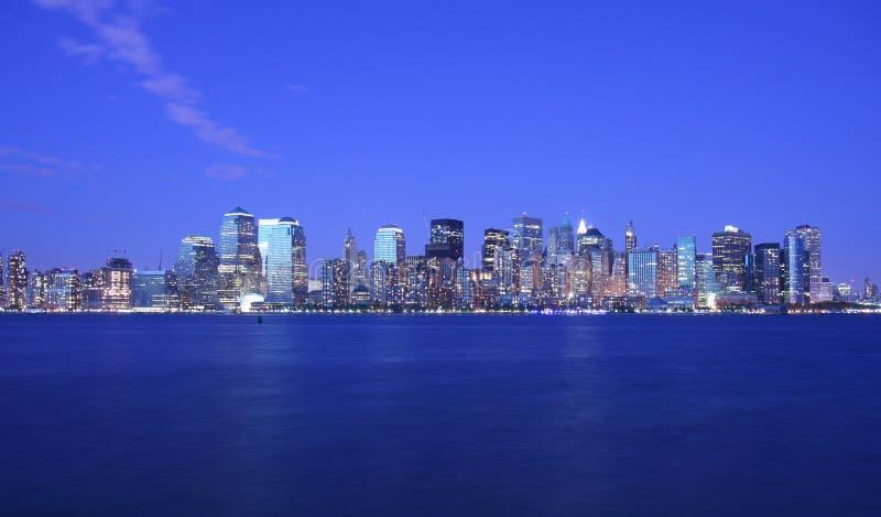 Luces de NYC imagenes de archivo