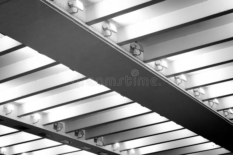 Luces de techo fotos de archivo libres de regalías
