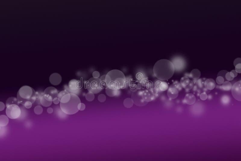 Luces Defocused ilustración del vector