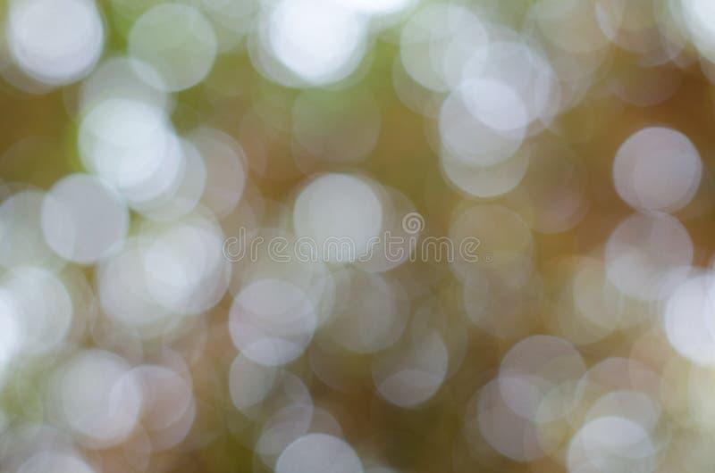 Luces Defocused abstractas de Bokeh fotografía de archivo