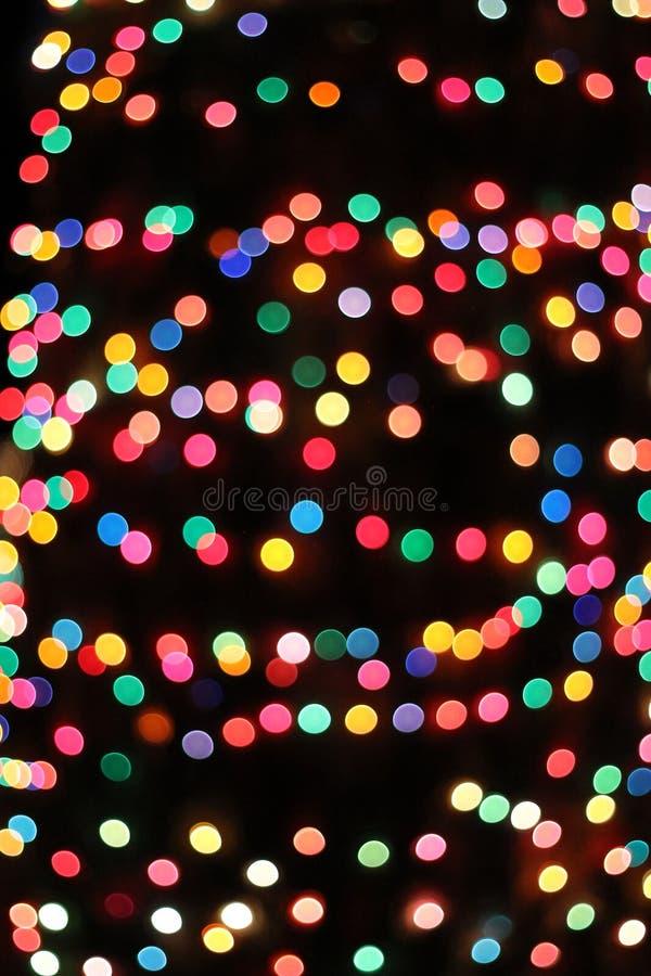 Luces del arco iris foto de archivo