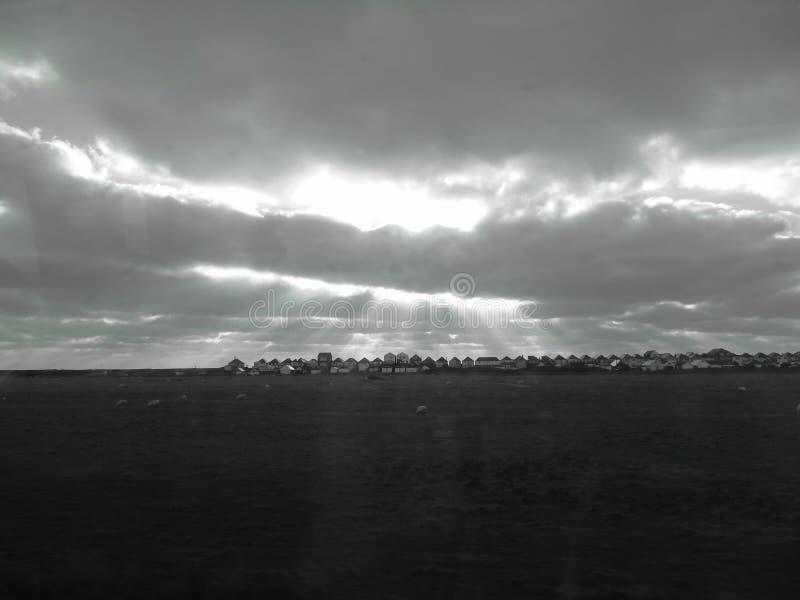 Luces del cielo foto de archivo libre de regalías