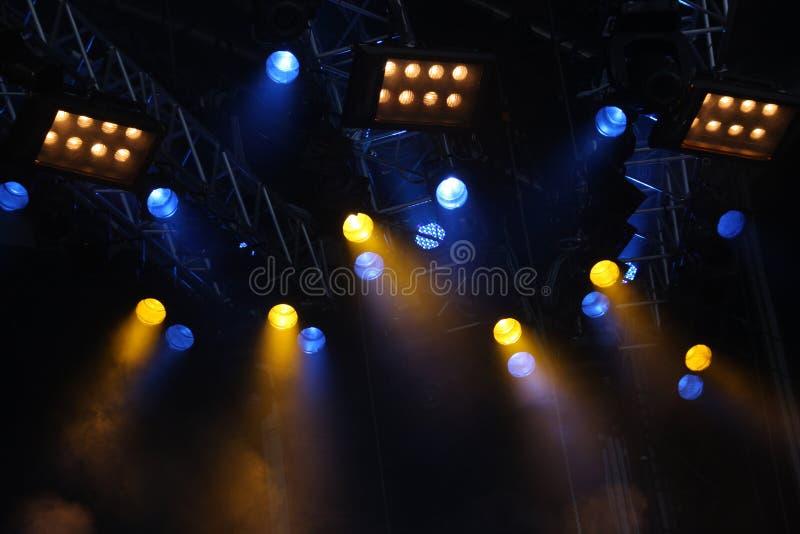 Luces del concierto imagen de archivo libre de regalías