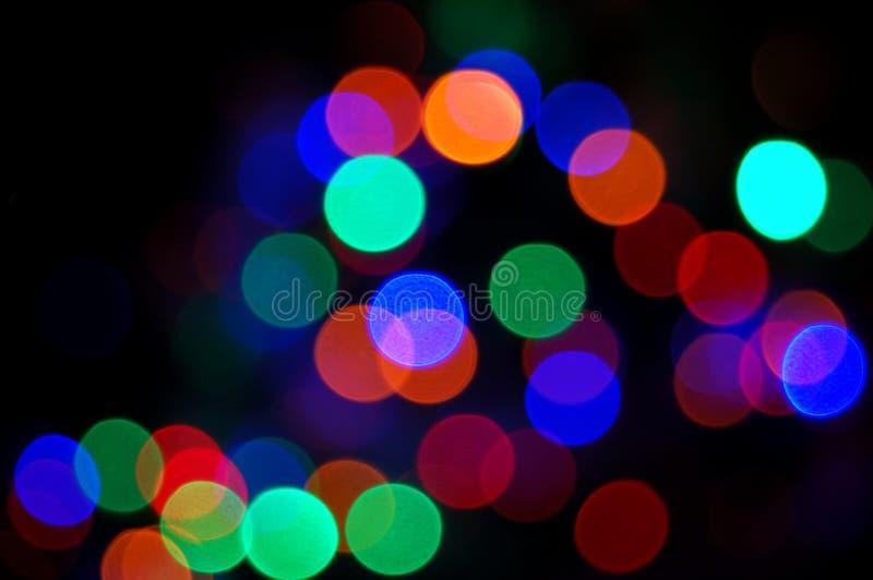 Luces del disco del arco iris foto de archivo libre de regalías