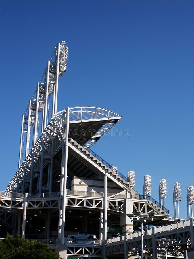 Download Luces del estadio imagen de archivo. Imagen de arena, luces - 189757