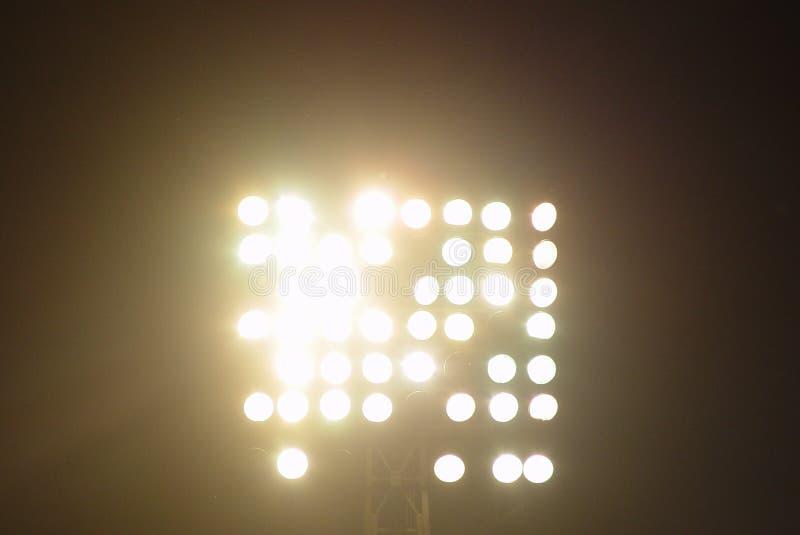 Luces del estadio foto de archivo libre de regalías