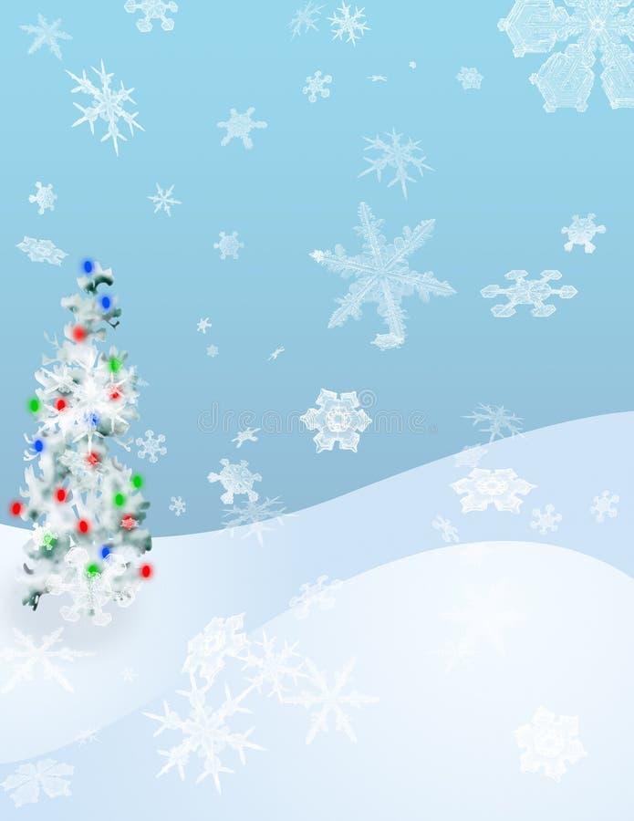 Luces del invierno libre illustration