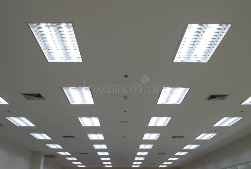 Luces del techo imagen de archivo