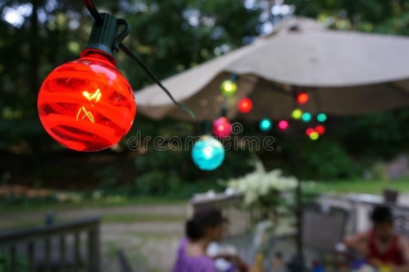 Luces del verano foto de archivo libre de regalías