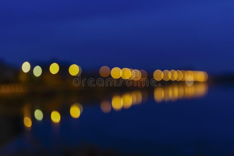 Luces desenfocado foto de archivo