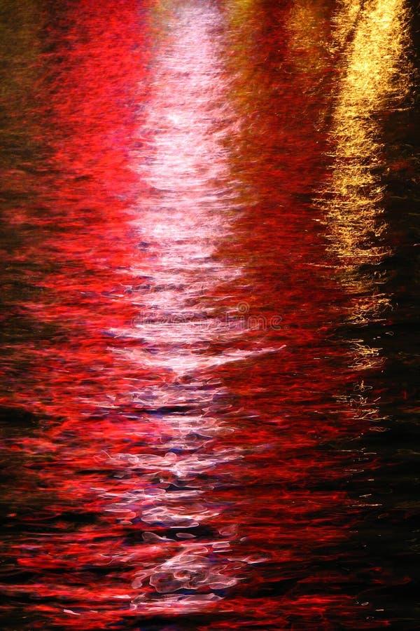 luces en el agua, Las Vegas 21 fotografía de archivo