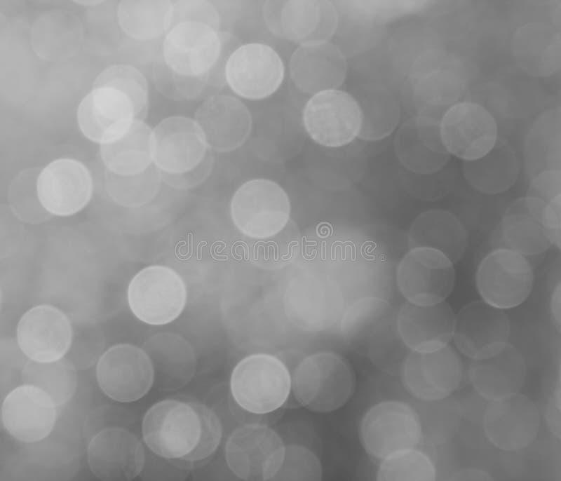 Luces en fondo gris imagen de archivo libre de regalías
