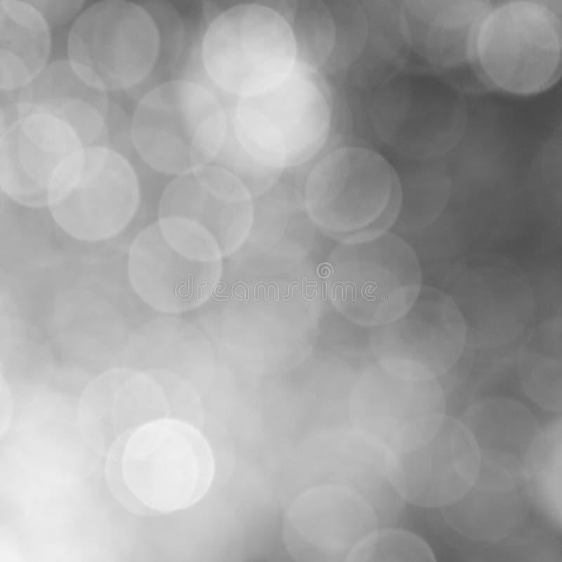 Luces en un fondo gris fotografía de archivo libre de regalías