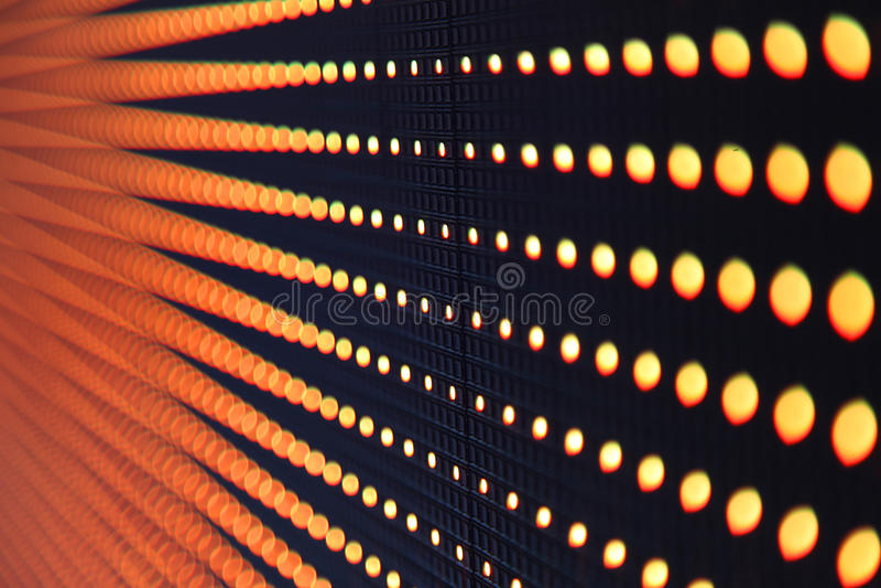 Luces LED abstractas imágenes de archivo libres de regalías