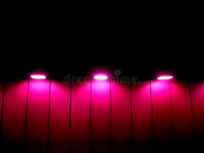 Luces púrpuras foto de archivo libre de regalías