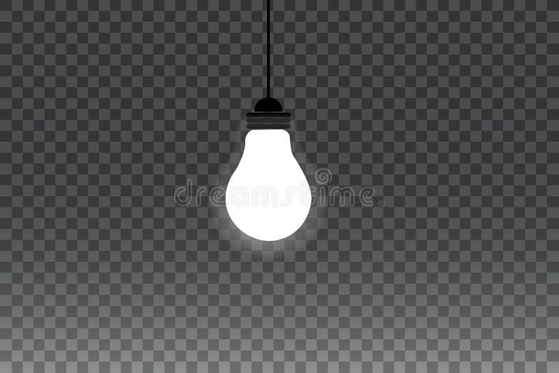 Luces que brillan intensamente por días de fiesta Guirnalda que brilla intensamente transparente Luces que brillan intensamente b stock de ilustración