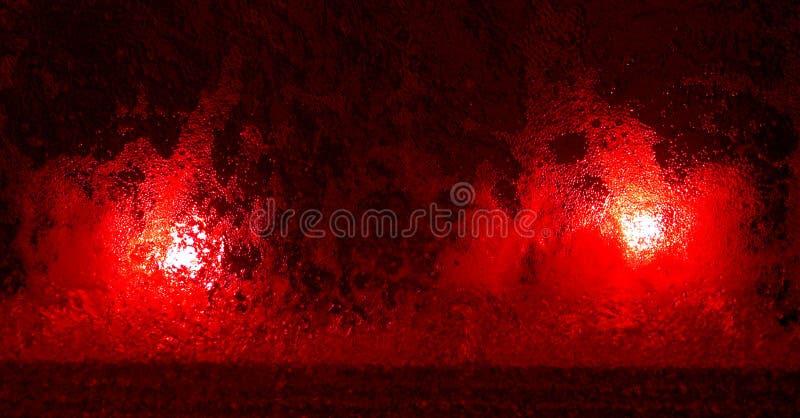 Download Luces rojas foto de archivo. Imagen de burbuja, extracto - 184544