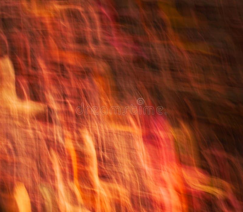 Luces rojas abstractas en el movimiento imagen de archivo libre de regalías
