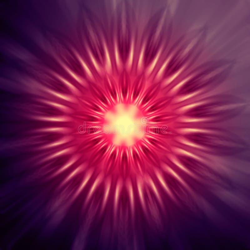 Luces rosadas y púrpuras en círculos libre illustration