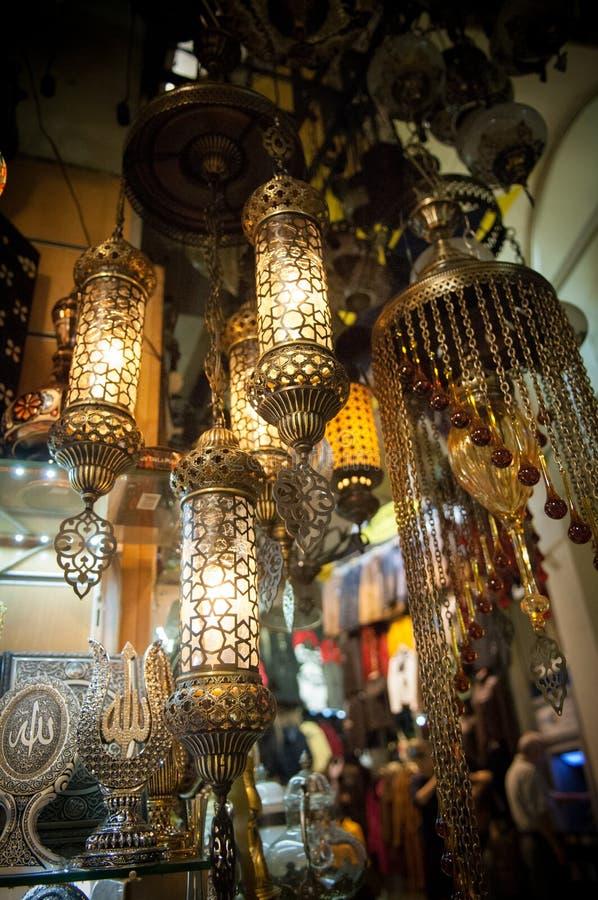 Luces turcas foto de archivo libre de regalías