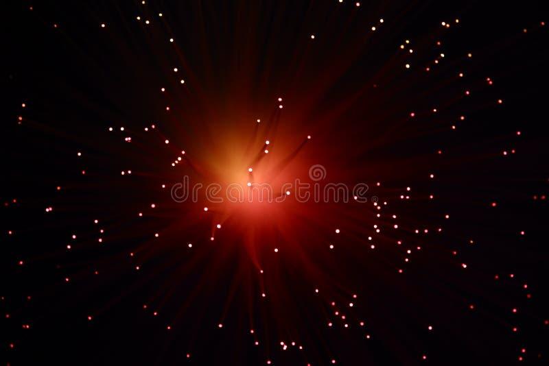 Luces y extracto coloreados de la falta de definición de movimiento fotografía de archivo