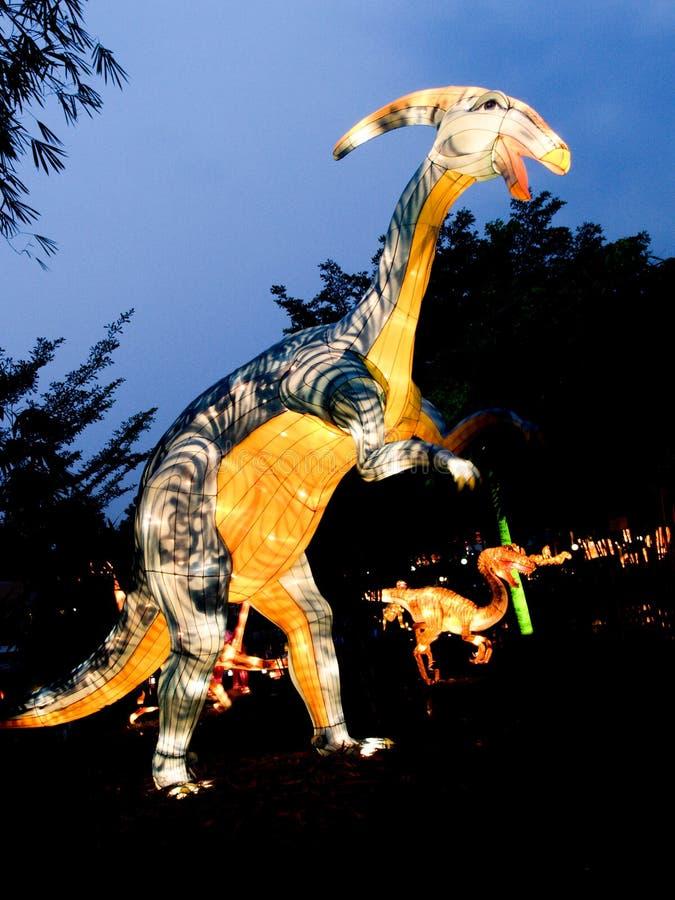Luces y festival hermosos del safari de las linternas en Singapur fotografía de archivo