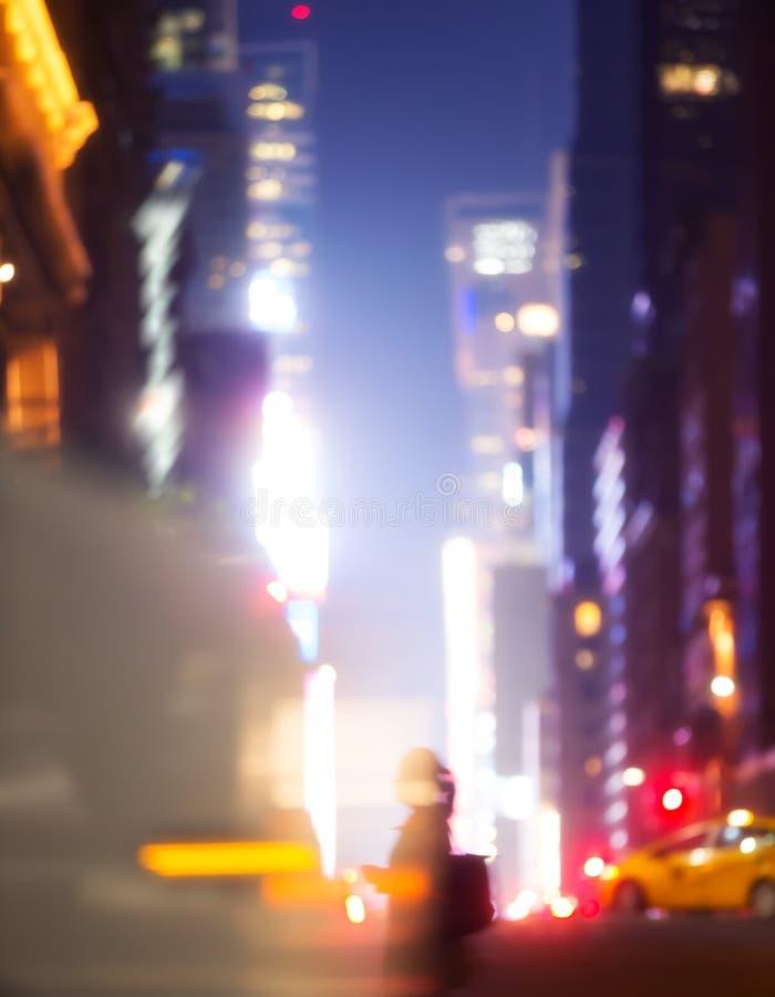 Luces y sombras de New York City fotografía de archivo libre de regalías