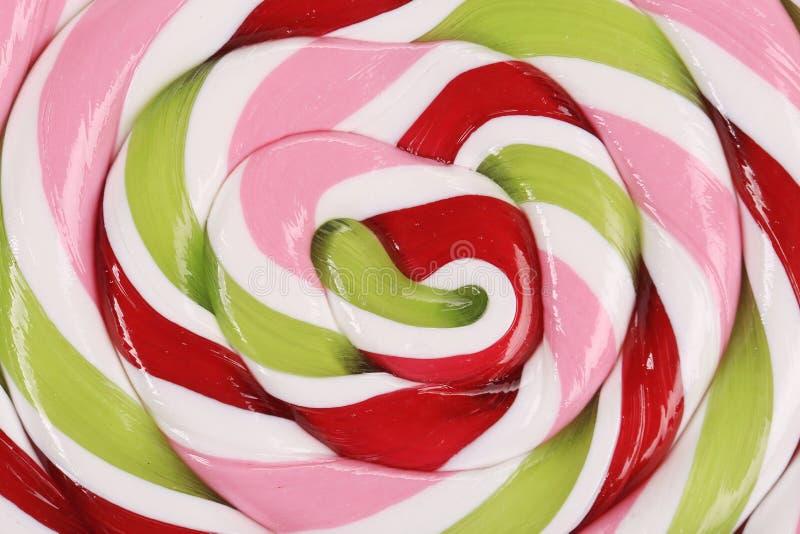 Lucette en spirale colorée. photographie stock libre de droits
