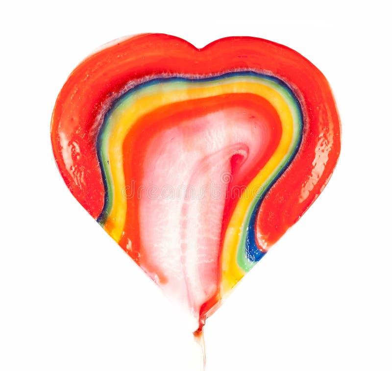 Lucettes en forme de coeur photo libre de droits