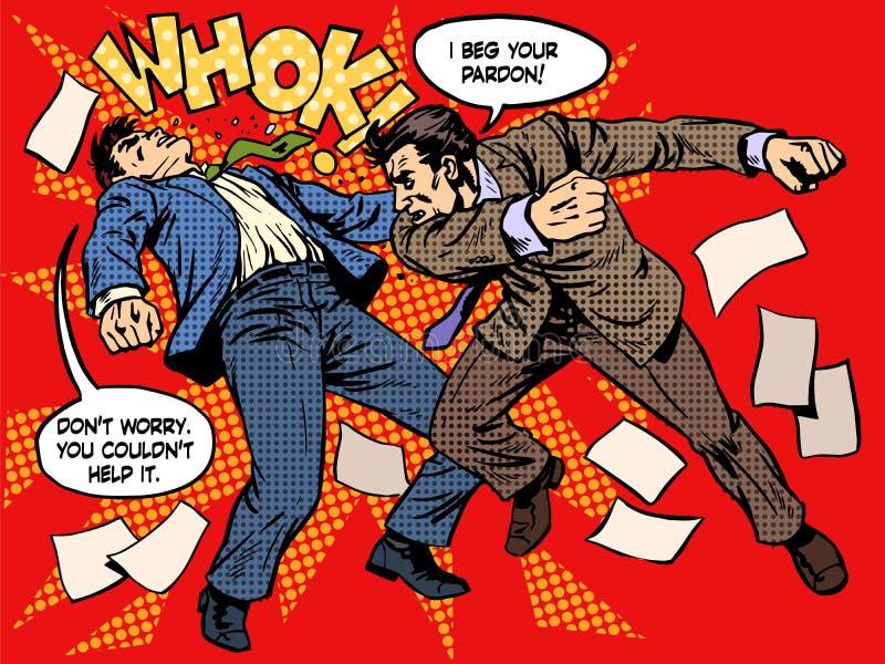 Lucha de los hombres libre illustration