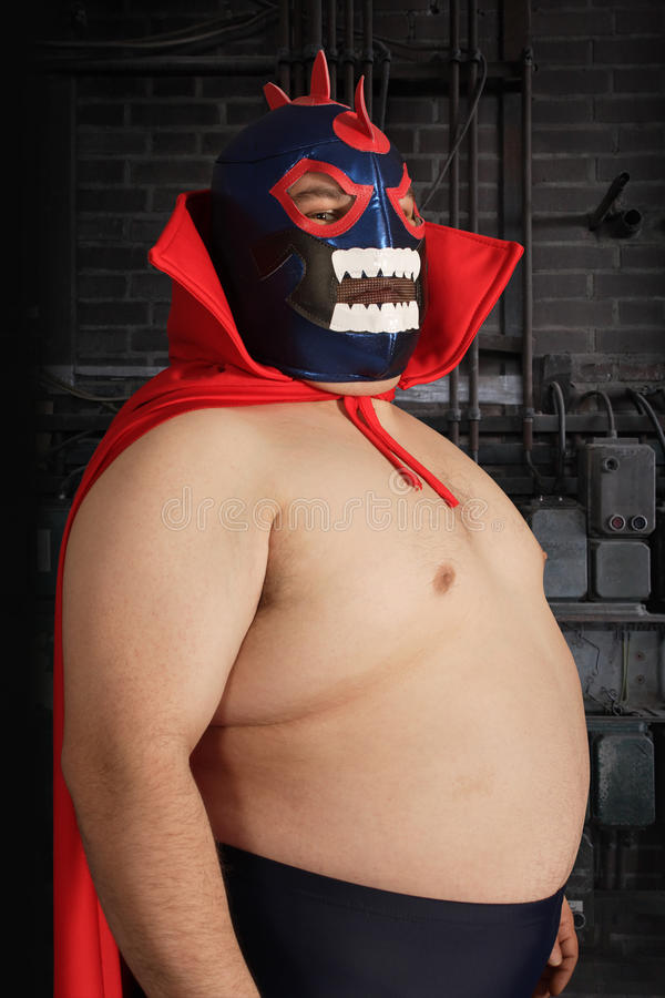 Luchador Royalty Free Stock Images