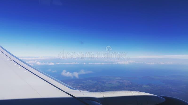 In lucht stock fotografie