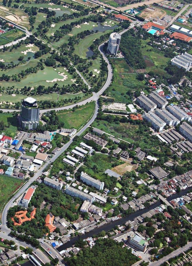 Lucht Bangkok stock afbeeldingen