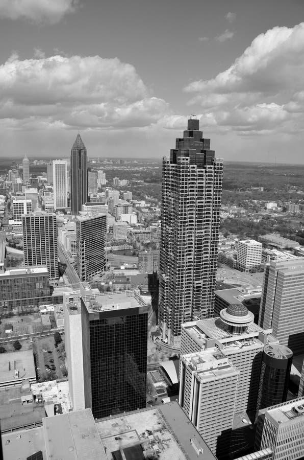 Lucht Mening van Atlanta, Georgië royalty-vrije stock foto's