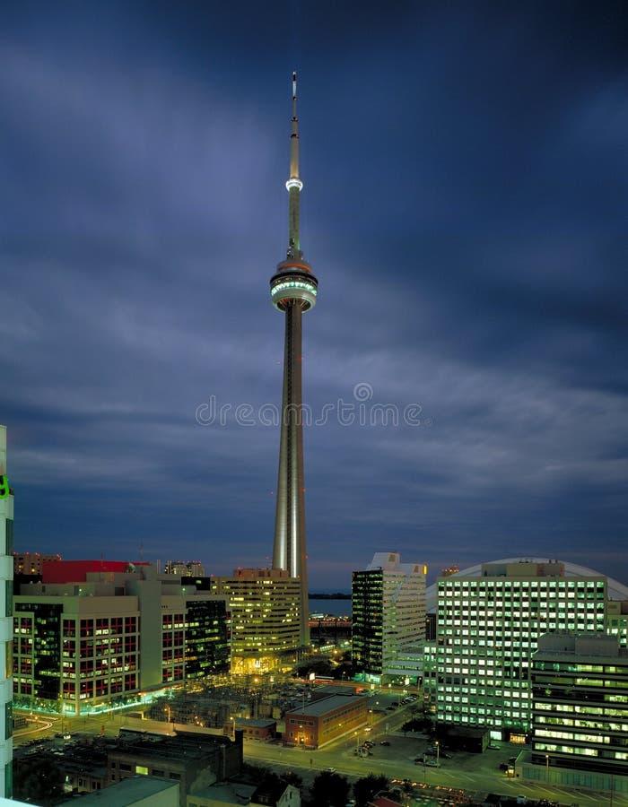Lucht mening van CN Toren royalty-vrije stock afbeeldingen