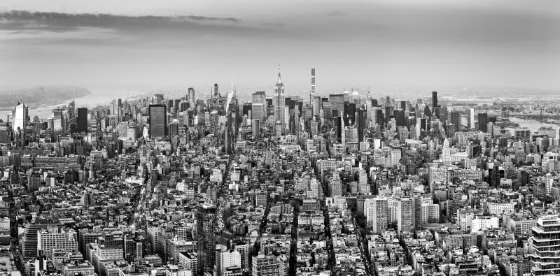 Lucht mening van de Stad van New York stock afbeeldingen