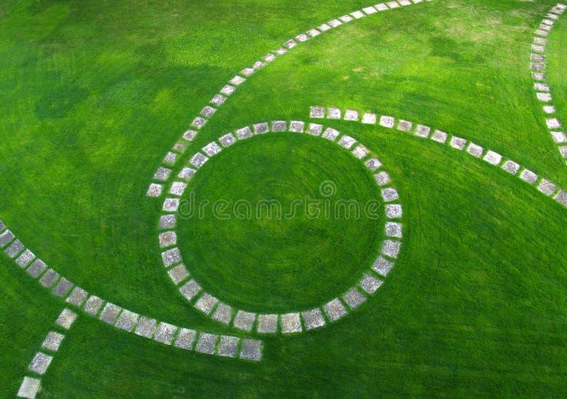Lucht mening van de Weg van de Tuin royalty-vrije stock foto