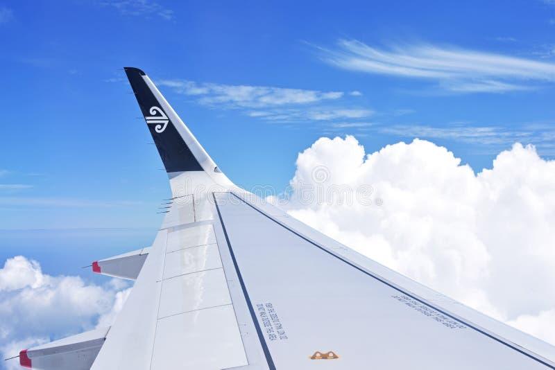 Lucht Nieuw Zeeland royalty-vrije stock afbeeldingen