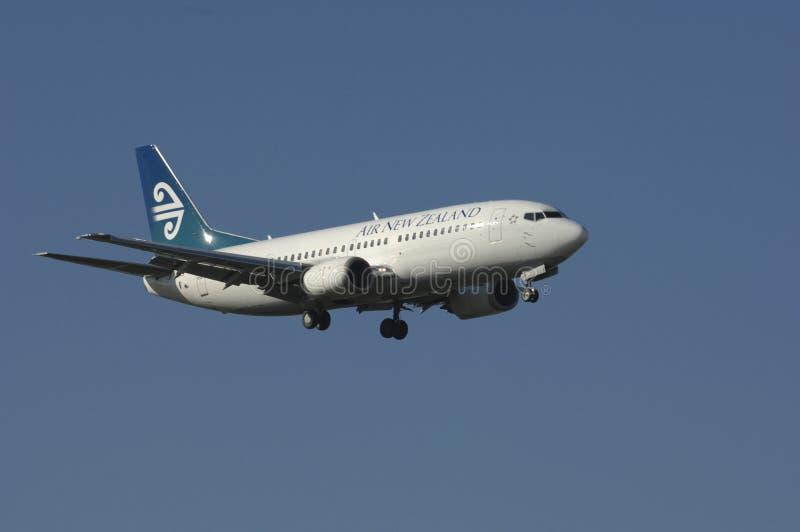 Lucht Nieuw Zeeland Boeing 737 stock afbeeldingen